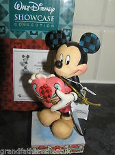 WALT DISNEY SHOWCASE COLLECTION TRADITIONS MICKEY MOUSE WITH HEART 4026084