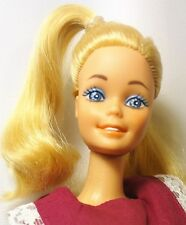 Mattel 1980 mi primer Barbie ojos azules Twist N Turn