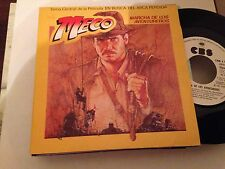 """MECO - INDIANA JONES - WHITE LABEL 7"""" SINGLE SPAIN RIDERS OF THE LOST ARK"""