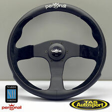 Nardi Personal POLE POSITION Steering Wheel Black Leather 350mm 6521.35.2091