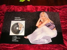 RARE CHRISTINA AGUILERA I TURN TO YOU PROMO CD SINGLE BEAUTIFUL PHOTO THE VOICE