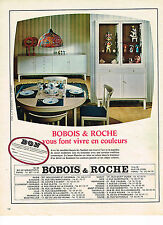 PUBLICITE ADVERTISING 034   1967    BOBOIS & ROCHE   meubles
