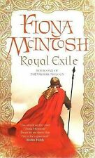 Royal Exile By Fiona McIntosh (The Valisar Trilogy - Book #1) NEW