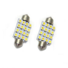 1x Auto Interior Dome Festoon Bulb Reading Light Licence White Line 16 SMD LED