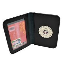 2nd Amendment CWP CCW CCL Concealed Weapons Carry Permit Leather Wallet Case