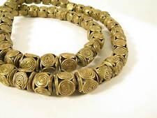 Bel filamento OTTONE PERLE P gelbguß Ghana Brass Beads Ashanti Akan afrozip
