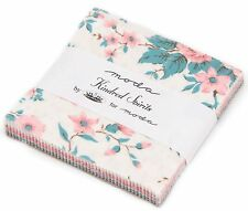 "Kindred Spirits Moda Charm Pack 42 100% Cotton 5"" Precut Fabric Quilt Squares"