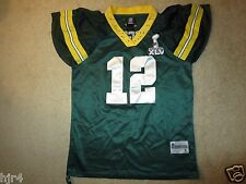 Aaron Rodgers #12 Green Bay Packers NFL Reebok Jersey Women's XL