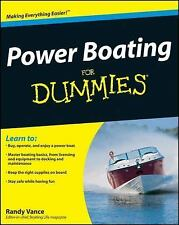 Power Boating For Dummies, Vance, Randy, Good Book