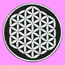 Flower Of Life Bring Me The Horizon Logo Music Embroidered Iron On Patch