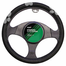 Summit SUM-720 Grey Paw Print Steering Wheel Cover - Single