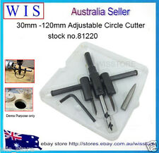 30-120mm Adjustable Circule Hole Saw Cutter for plaster,plywood,hole Cutter81220