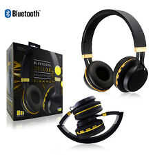 NEW Sentry Bluetooth Deluxe Headphone Digital Stereo Sound W/Microphone