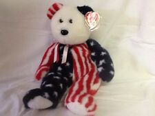 Beanie Buddy Spangle - A Star's and Stripes favorite Go USA