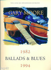 Gary Moore songbook Ballad & Blues 1982- 1994 Guitar Tab & Bass Tablature Score