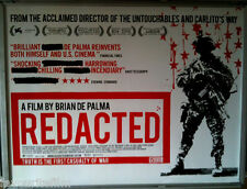 Cinema Poster: REDACTED 2008 (Quad) Brian De Palma Izzy Diaz Rob Devaney