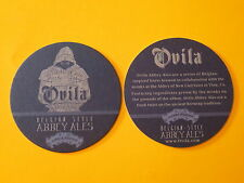 Beer Bar COASTER ~ SIERRA NEVADA Belgian Style Abbey Ales    OVILA Collaboration