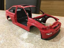 1/18 MINICHAMPS FORD ESCORT MK5 COSWORTH BODYSHELL MODIFIED TUNING UMBAU DIORAMA