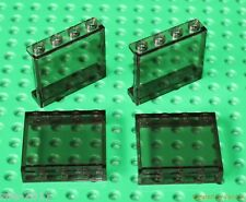 Lego 4x Transparent Black Panel 1x3x4 NEW!!!