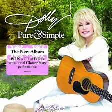 DOLLY PARTON - PURE & SIMPLE CD - NEW RELEASE AUGUST 2016