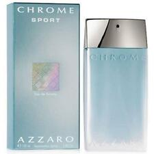 Chrome  Sport  Cologne  by  Azzaro  3.4  oz  edt  3.3  for  Men  NEW  IN  BOX