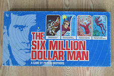 The Six Million Dollar Man Board Game Complete Parker Brothers 1975 Vintage
