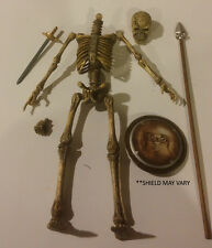 "Zoloworld Articulated Skeleton Warrior 12"" 1:6th  Action Figure BLOWOUT GLOW"