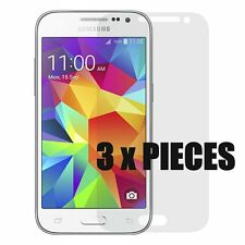 3 x PIECES of PREMIUM SCREEN PROTECTORS CLEAR for Samsung Galaxy CORE Prime G360