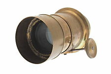 "RARE EARLY Brass ""Voigtlander & Sohn in Wien"" Petzval Lens - c. 1846-1847 S#2761"