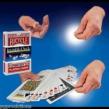 RED BICYCLE JUMBO INVISIBLE DECK Stage Magic Trick Mental Cards Mentalism Box