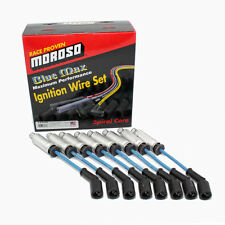 Moroso 72535 Blue Max 8mm Spiral Core Spark Plug Wires 1997-2015 GM LS Engines