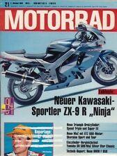 M9321 + Gebrauchtkauf HONDA XBR 500 + Test BOSS HOSS  V8 + MOTORRAD 21/1993