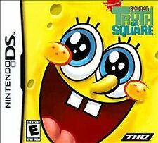 SpongeBob's Truth or Square Nintendo DS Tested No Case Free Ship Game Only
