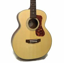 Guild Jumbo Junior Mahogany Westerly Collection Acoustic-Electric Guitar w/ Case