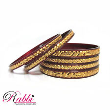 Micro-Gold plated 6 pc bangle set This jewellery is  guaranteed for six months