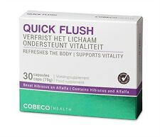 Cobeco Quick Flush Natural Detox Supplement 30 Tablets For Deep Inner Cleansing