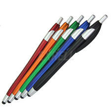 5x Universal Capacitive Touch Screen Stylus Ink Pen for iPhone Phones Tablet PC