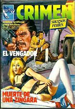 SPANISH 1970'S ILLUSTRATED EROTIC MAGAZINE CRIMEN #58 FINE