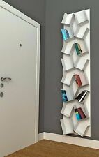"BOOKCASE IN COLORED METAL -  MABELE ""KAOS"""