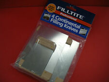 FILLTITE PROFESSIONAL CONTINENTAL FILLING KNIVES PACK OF 4