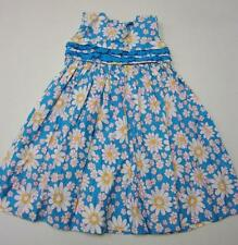Girls STRASBURG boutique dress 2 2T sundress aqua daisy funky yellow white