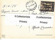 1955 (26 Novembre) 5°Centenario della Morte del Beato Angelico lire 10 Viagg.56