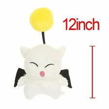 "Final Fantasy MOG Moogle Mogli Flying Cat Animal Character 12"" Plush Toy Stuffed"