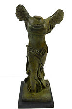 Nike Ancient Greek Winged Victory of Samothrace Bronze statue artifact