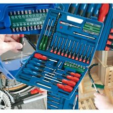 Draper Screwdriver Set 70 Pc Socket Bit Tool Kit Set Precision Mechanics 40850