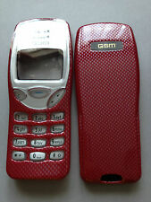 MOBILE PHONE FASCIA / HOUSING / COVER & KEYPAD FOR NOKIA 3210 - 2 CARBON COLOURS