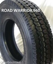 (10-TIRES) 11R22.5 ROAD WARRIOR NEW (2 STEER and 8 DRIVE TIRES) 16 PLY LR-H
