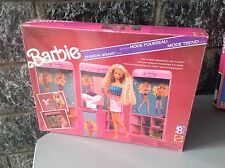1990# Mattel Barbie Fashion Wraps Shop Set Playset# 9918 Nib