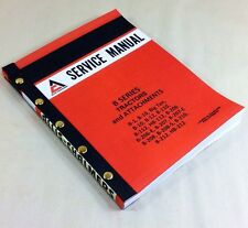 ALLIS CHALMERS B-SERIES B206 B207 B208 B210 B212 HB212 TRACTORS SERVICE MANUAL