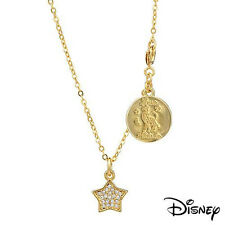 Disney Couture Love Kidada Tinkerbell Star Charm Necklace in Genuine Crystal